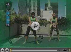 kettlebell video screenshot